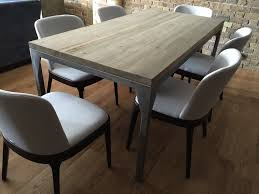Industrial Kitchen Table Furniture Contemporary Industrial Dining Table Cosywood Co Uk