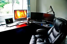 Computer Desk Microphone 15 Envious Home Computer Setups Inspirationfeed