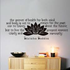 popular buddha sayings buy cheap buddha sayings lots from china high quality bedroom headboard lotus wall sticker buddha sayings text vinyl removable home decor sofa wall