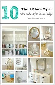 How To Decorate Your Home On A Budget Livelovediy My Top 10 Thrift Store Shopping Tips How To Decorate