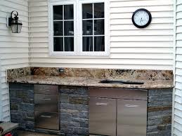 Ikea Outdoor Kitchen Cabinets Outdoor Kitchen Cabinet Materials Preferred Properties Landscaping