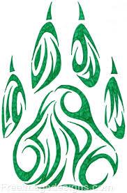 100 bear paw tribal tattoo paw print tattoos designs ideas