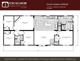 schult freedom 6428 69 excelsior homes west inc