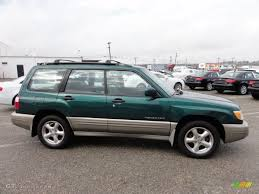 green subaru arcadia green metallic 2001 subaru forester 2 5 s exterior photo