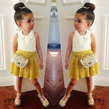 aliexpress com buy 2017 kid toddler girls sleeveless top yellow