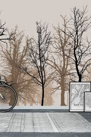 90 best forest wall murals images on pinterest wallpaper designs silhouetted trees wall mural wallpaper