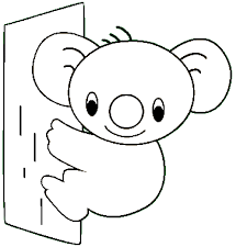 4 images cute koala coloring pages printable printable