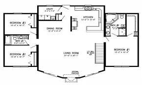 one story log home floor plans single story bedroom house plan best four open floor plans one log