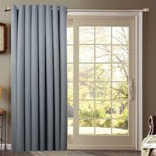 glass door amazing wooden vertical blinds patio door curtain