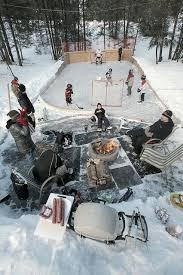Backyard Hockey Rink by Best 25 Ice Hockey Rink Ideas On Pinterest Ice Hockey Sticks