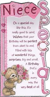 birthday cards for niece niece birthday card special niece great quality card