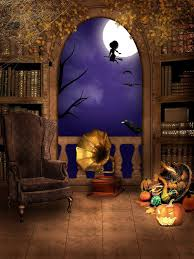 Halloween Backdrop Only 25 00 Portrait Clothbackdrops For Photography Gramophone