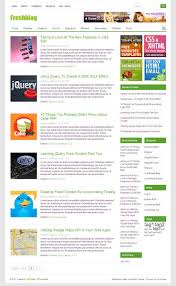 freshblog free wordpress theme best wordpress themes