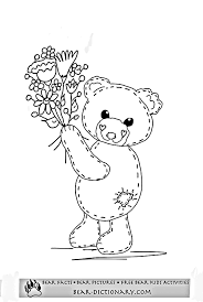 free teddy bear coloring pages toby u0027s teddy bear coloring