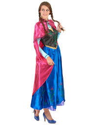 Frozen Costume Princess Anna Frozen Dress For Women Vegaoo
