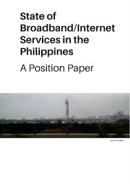 position paper state of broadband in the philippines