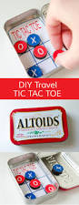 craftaholics anonymous diy pocket tic tac toe game with printable