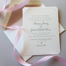 Vera Wang Wedding Invitations Designer Wedding Invitations Paper Source
