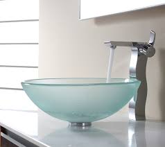 Glass Bathroom Sink Vanity Bathroom Remarkable Matted Glass Bathroom Sink Design Ideas