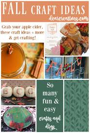 fall craft ideas fun and easy fall crafts and diy projects