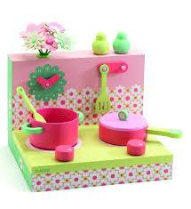 princesse cuisine djeco cuisine les boîtes en bois cuisinière pastel jeux jouets