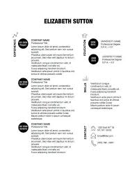 Resume About Me Examples by 27 Minimalist Examples Of Rã Sumã Designs Designbump