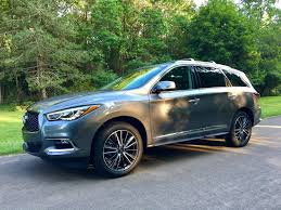 infiniti qx60 trunk space road test 2017 infiniti qx60 awd the intelligent driver