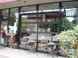 Overhead Door Store Aluminum View Glass Garage Doors On Restaurant Overhead