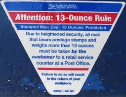 understanding the usps 13 ounce mail rule stamps com blog