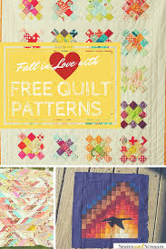 favorite fall quilts 13 free quilt patterns seams and scissors