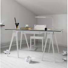 bureaux en verre bureaux et porte pc pour l angle home office sediarreda