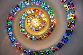 gstained glass window thanksgiving chapel pixdaus