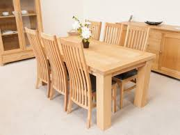 Light Oak Dining Table And Chairs Light Oak Dining Table Ispcenter Us