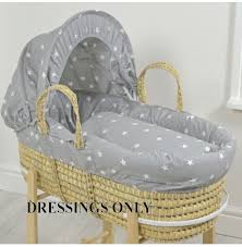 Wicker Crib Bedding Moses Basket Crib Pram Bedding Online4baby