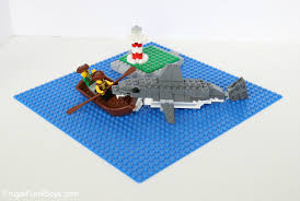 how to build an awesome lego shark