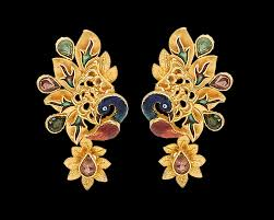 gold earrings design gold earrings design pictures nathella collections gold earrings