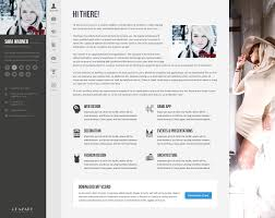 Online Resume Website by Profiler Vcard Resume Joomla Template By Templaza Themeforest