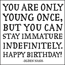 quotable cards happy birthday o nash quotable cards