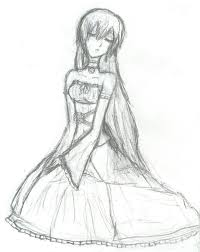 mizuki u0027s dress sketch by silverdeathrose on deviantart