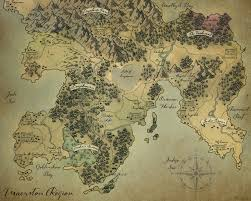 Fantasy Maps Fantasy Map Maerston Region By Melissajp On Deviantart