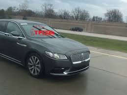 lincoln jeep 2016 new 2017 lincoln continental spied on the open road news the