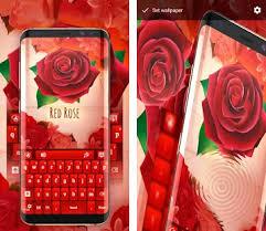 rose theme alpha 3 red rose keyboard apk download latest version 4 0 1 com jb