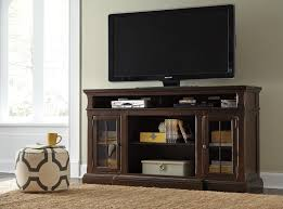 entertainment centers with glass doors extra large tv stand with breakfront u0026 2 glass doors by signature