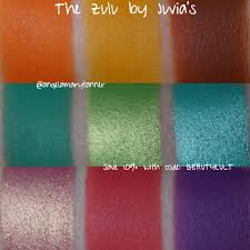 juvia u0027s place zulu palette review swatches and discount code