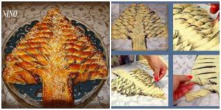 braided nutella christmas tree bread recipe home design garden