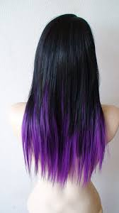 Weave Hairstyles With Purple Tips | purple hair tips hair pinterest hair coloring hair style and