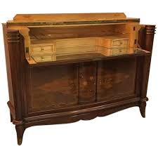french art deco buffet in the style of jules leleu for sale at 1stdibs