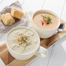 cuisine le gal sea foods clam chowder lobster bisque 10075820 hsn