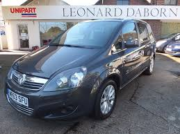 vauxhall zafira 2013 used vauxhall zafira design 2013 cars for sale motors co uk
