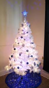 holiday time 6 5 u0027 jackson spruce white artificial christmas tree